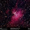 M 16 La nebulosa del Aguila,                                Lucas Herrero Barrasa