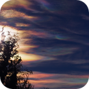 Rainbow clouds,                                Astro-Clochard