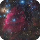 NGC2024/Flame Nebula, B33/Horsehead Nebula and IC434,                                Marukawa