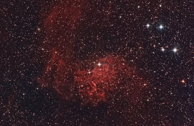 Flame Nebula,                                Ross Lloyd