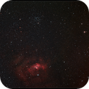 M51 & NGC 7635 Bubble Nebel,                                Wolfgang Ransburg