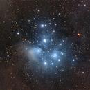 M45 - The Pleiades LRGB,                                Marco Favro