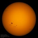 The Sun, Sunspots AR 2783, 2785, 2786, 2787,                                Robert Van Vugt