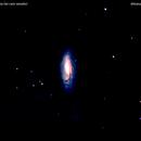 ngc5005 galassia nei cani venatici         distanza 68 milioni    A.L.,                                Carlo Colombo