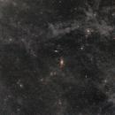 M81 & M82  -- The Volcano Nebula -- Integrated Flux Nebula (Galactic Cirrus),                                Roland Schliessus