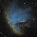 NGC 281, The Pacman Nebula, SH 2-184,                                Madratter