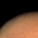 Olympus Mons with bright center region,                                Hermann Klingele