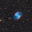 2018 M27 Dumbbell Nebula Visible,                                HomerPepsi
