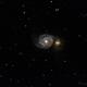 M51 - The Whirlpool Galaxy,                                CarlosAraya