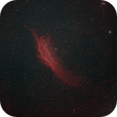 California Nebula at 85mm in HOO,                                JDJ