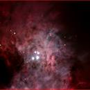 The great Orion Nebula inter core,                                AlBroxton