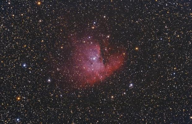NGC281 - Pacman nebula,                                Ivaylo Stoynov