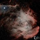 IC2944 The Running Chicken Nebula,                                Mark Forteath