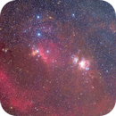 M78/M42/Horsehead in the Orion area.,                                Ou Mingzhi