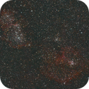 IC1805 and IC1848 : the Heart and Soul nebulas,                                Maxence Ouafik