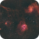 Flaming Star Nebula,                                FantomoFantomof