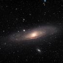 M31 Andromeda Galaxy,                                Andrea Bergamini