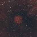Sh2 166 H-alpha and RGB,                                jerryyyyy