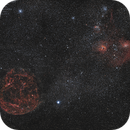 Constellation du Cocher, Simeis 147, Néb. Spaghetti, IC 405, La flamme,                                Pascal83