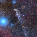 Witch Head Nebula,                                Die Launische Diva