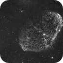 The Crescent Nebula in H-alpha,                                Damien Cannane