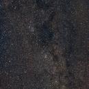 Via Làctia i Cassiopea - Milky way and Cassiopea,                                alegret