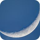 Late Afternoon Moon,                                Jeff Marston