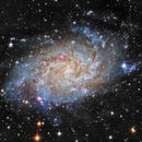 M33 Ha-LRGB,                                Spoutnik17