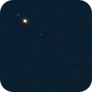 Jupiter and Saturn with moons,                                Martin Mutti