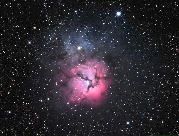 M20 - Trifid Nebula in Sagittarius,                                Mataratzis
