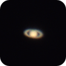 my first telescope & pic of Saturn,                                up2the_sky
