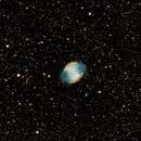 M27 The Dumbbell Nebula,                                Eddie Pons aka Ed...