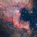 "NGC7000 - The North America nebula ""The wall"",                                Alessandro Cavallaro"