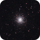 M13 - Hercules Cluster with a tiny scope,                                Paul Ricker