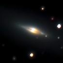 M102. The Spindle Galaxy. NGC 5866.,                                Sergei Sankov