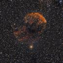 IC 443 Jellyfish Nebula reprocessed,                                Nikolaos Karamitsos