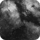 Mosaic of part of IC1318 (Gamma Cygni Nebula),                                Verio