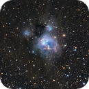NGC 7129 in Cepheus,                                Jim Thommes