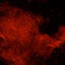 NGC7000 HA,                                Brad Carlson