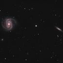 M100 and NGC  4312 (under construction),                                Dickvantatenhove
