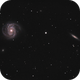 M100 and NGC  4312 (under construction),                                Dickvantatenhove