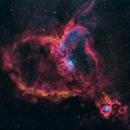 IC 1805 nébuleuse du coeur,                                AdrienBessich