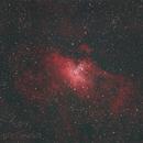 M16 Eagle nebula,                                Dewald