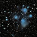 M45 Les Pléïades,                                Doublegui