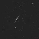 NGC4565 luminance,                                Maxime Delin