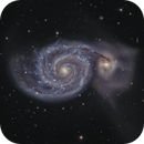M51  before Spring ends,                                Stephan Linhart