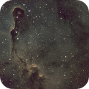 IC_1396A [Cep] - The Elephant Trunk Nebula in SHO,                                G400