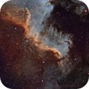 NGC 7000 the Wall,                                Jerry@Caselle
