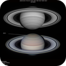 Saturn storm and Tetis,                                Walter Martins