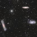 Leo Triplet - NGC 3628, M 65 and M 66,                                James E.